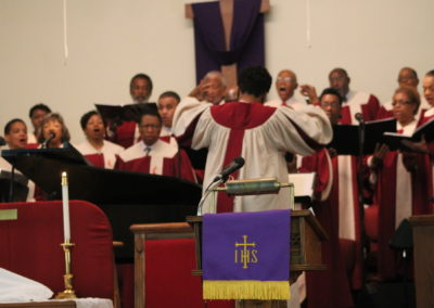Intergenerational Choir directed by LaMonica Lewis